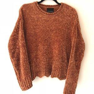 Burnt orange sweater 🍑